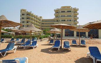 MAGIC BEACH HOTEL, Egypt, Hurghada, 8 dní, Letecky, All inclusive, Alespoň 4 ★★★★, sleva 3 %, bonus (Levné parkování u letiště: 8 dní 499,- | 12 dní 749,- | 16 dní 899,- )