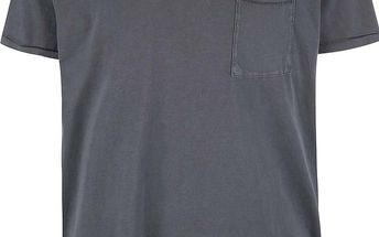 Šedé triko s krátkým rukávem Selected Homme Tristan
