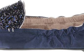Modré baleríny do kabelky Butterfly Twists Amber
