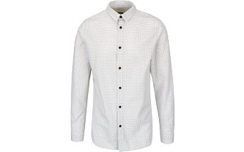 Béžová vzorovaná neformální košile Selected Homme Jaquard
