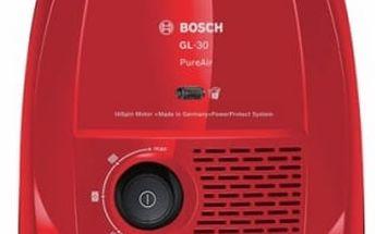 Vysavač podlahový Bosch PureAir BGL3A222 červený
