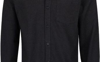 Šedo-černá kostkovaná košile Shine Original