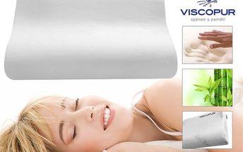 Anatomický polštář VISCOPUR® bamboo profilovaný