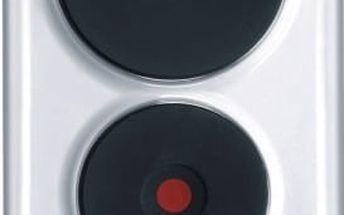 Elektrická varná deska Mora VDE 310 W bílá