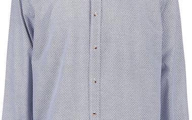 Světle modrá košile s drobným vzorem Bertoni Malte