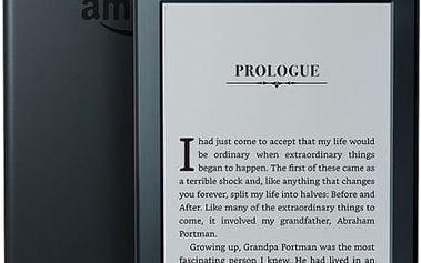 Amazon Kindle 8 TOUCH Wi-Fi verze s reklamou (EBKAM1147) černá