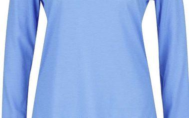 Modré dámské funkční tričko s dlouhým rukávem Under Armour Steaker LS
