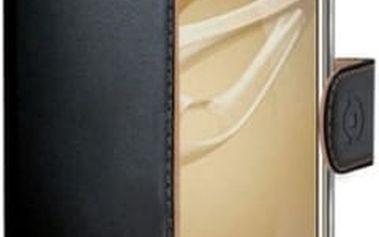 Pouzdro na mobil flipové Celly pro Honor 8 (WALLY610) černé