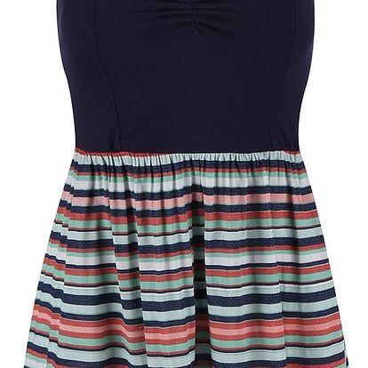 Barevné pruhované šaty Roxy Sleep To Dream