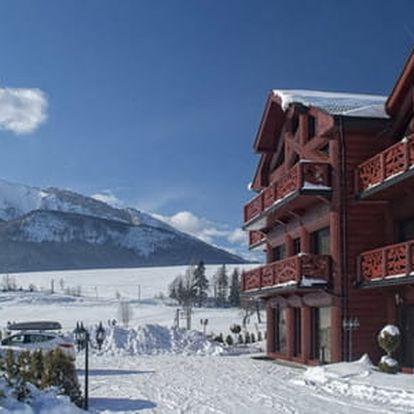 Exkluzivní ubytování v apartmánech Mountain resort v tichém prostředí obce Ždiar