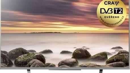 Televize Sony KDL43WD757SAEP stříbrná