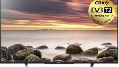 Televize Sony KDL49WD759BAEP černá