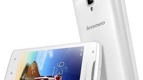 Mobilní telefon Lenovo A1000 DualSIM (PA1R0020CZ) bílý Software F-Secure SAFE 6 měsíců pro 3 zařízení (zdarma)