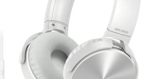 Sluchátka Sony MDRXB450APW.CE7 (MDRXB450APW.CE7) bílá