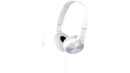 Sluchátka Sony MDRZX310APW.CE7 (MDRZX310APW.CE7) bílá