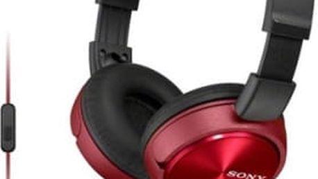 Sluchátka Sony MDRZX310APR.CE7 (MDRZX310APR.CE7) červená