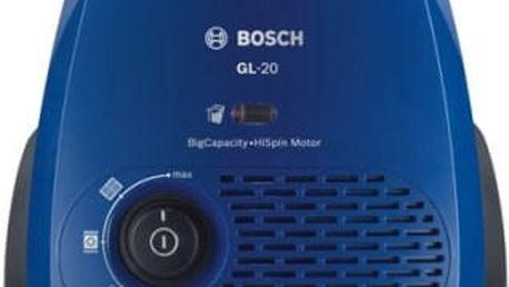 Vysavač podlahový Bosch BGL2UB110 modrý