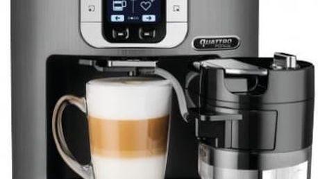 Espresso Krups EA860E10 bluetooth stříbrné