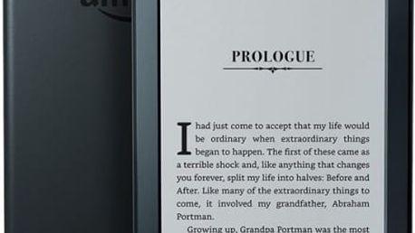Čtečka e-knih Amazon Kindle 8 TOUCH Wi-Fi verze s reklamou (EBKAM1147) černá