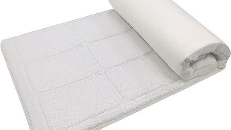 Vrchní matrace (přistýlky) VISCOPUR® bamboo snow 8 cm+paměťový polštář zdarma