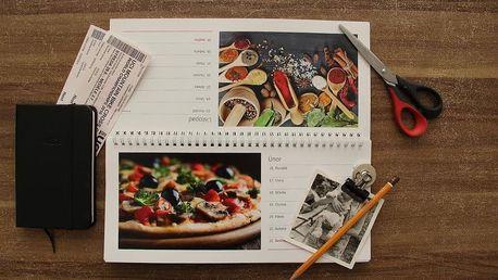 Kalendář z vlastních fotografií: nástěnný nebo stolní fotokalendář, několik druhů a rozměrů