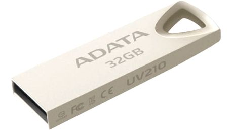 USB Flash A-Data UV210 32GB (AUV210-32G-RGD) kovová