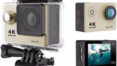 Digitální outdoor kamera 4L Ultra HD: velice kvalitní obraz, voděodolný kryt a příslušenství
