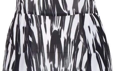 Černo-bílé žíhané šaty bez rukávů ZOOT Now