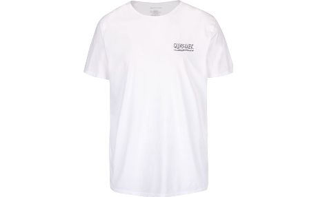 Bílé pánské triko s potiskem Quiksilver Garm