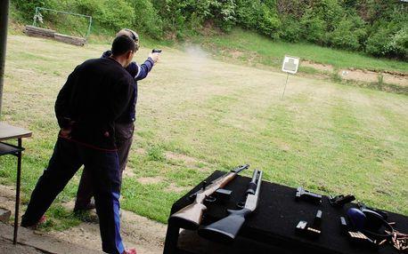 Mikulov - střelba z ostrých zbraní: puška, revolver, samopal vč. zapůjčení ochranných pomůcek