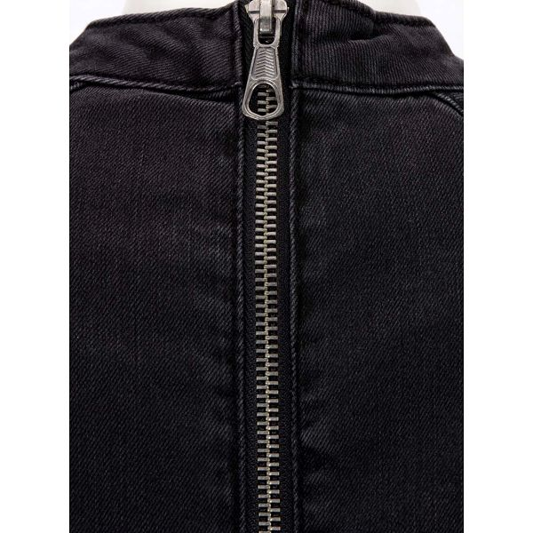 Tmavě šedé džínové šaty s rolákem Noisy May Maya4