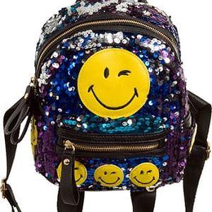 Dámský fialový batoh Bazzy 1613