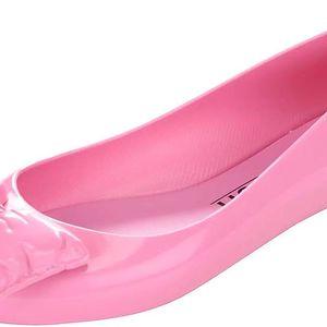Růžové balerínky s mašlí Melissa Space Love Jeremy