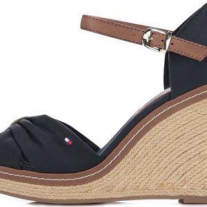 Tmavě modré dámské boty na klínku Tommy Hilfiger