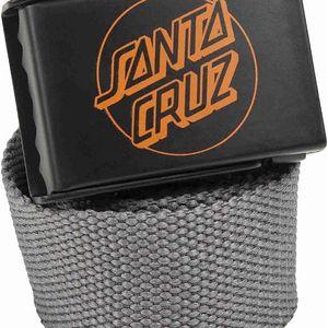 pásek SANTA CRUZ - SCS Simple Dot Web Belt Carbon (CARBON) velikost: OS