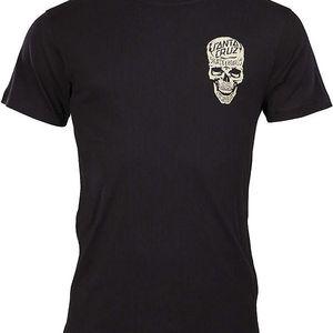triko SANTA CRUZ - Inked Skull Black (BLACK)