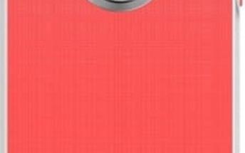 Kryt na mobil Aprolink Luminous Aluminum Ring Case pro iPhone 5s (IPH-512.PK) růžový