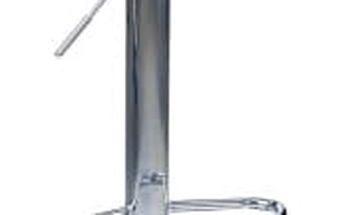 Barová židle H-48 (černá,chrom)