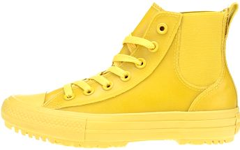 Žluté dámské kotníkové tenisky Converse Chuck Taylor All Star Chelsea Boot