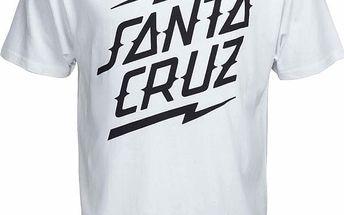 triko SANTA CRUZ - Bolt Stack White (WHITE) velikost: M