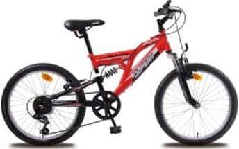 """OLPRAN Buddy 20"""" 2016 červeno-černé dětské kolo"""