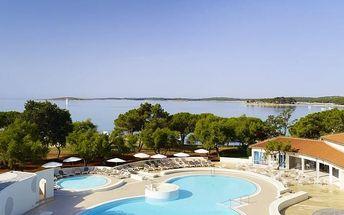 Chorvatsko - Istrie na 8 až 11 dní, polopenze s dopravou vlastní