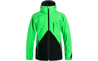 bunda QUIKSILVER - Mission Colorblock Jacket (GLQ0) velikost: M