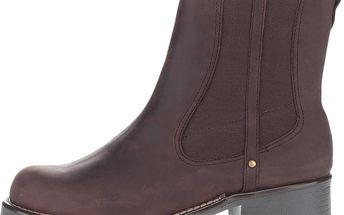 Hnědé dámské kožené kotníkové boty Clarks Orinoco Club