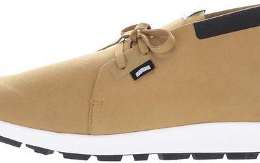 Hnědé pánské kotníkové boty Native