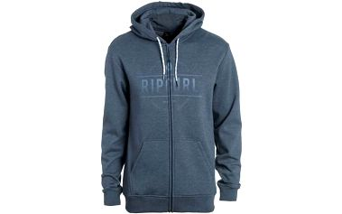 mikina RIP CURL - Rounded Rip Zt Hood Mood Indigo Mar (9074) velikost: XL