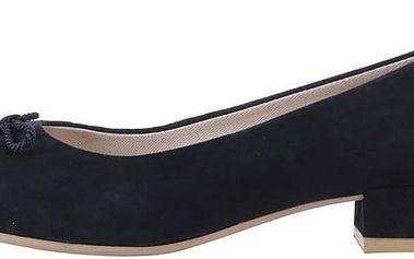 Modré balerínky na nízkém podpatku Vagabond Sarah