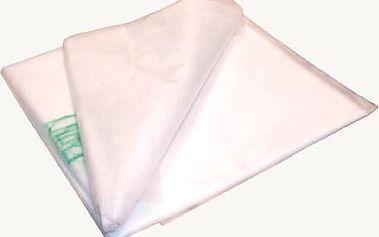 Textilie netkaná bílá 1,6 x 5 m 17g/m2, UV stabilní