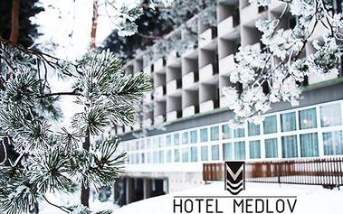 3denní wellness pobyt pro dva v hotelu Medlov*** s polopenzí, masáže, koupele, zábaly, vířivka aj.