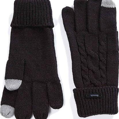 rukavice BENCH - Rivelin B Jet Black (BK014) velikost: OS